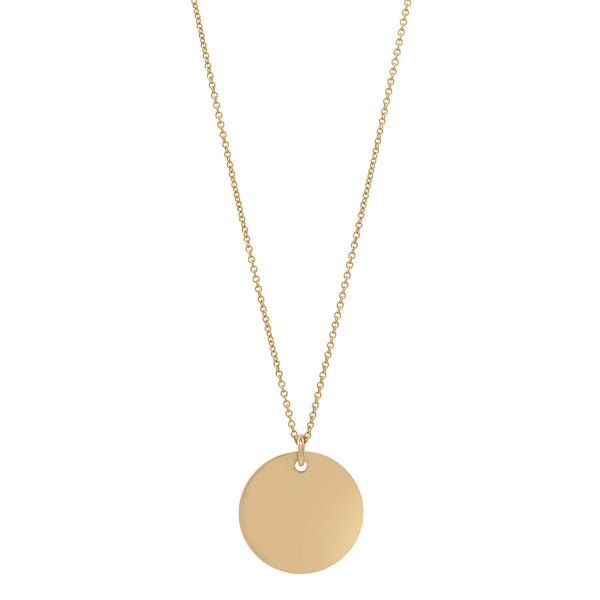 Disc Necklace