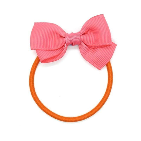 Small Bow Elastic - Coral
