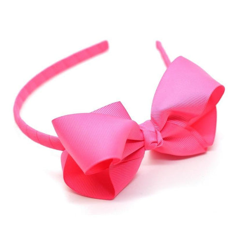 Bow Headband Passion Fruit