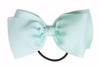 Large Bow Elastic - Aqua