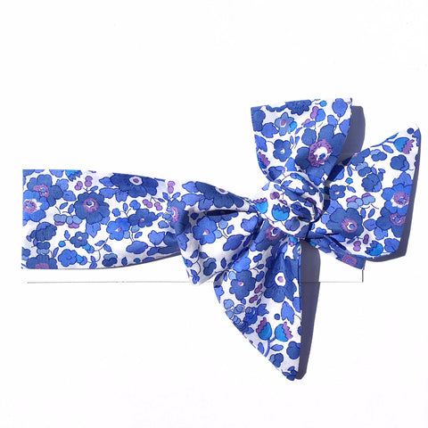 Liberty of London Headwrap - Betsy Blue