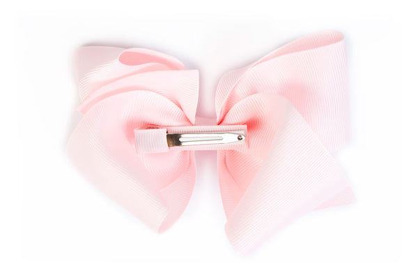Extra Large Light Pink Hair Bow
