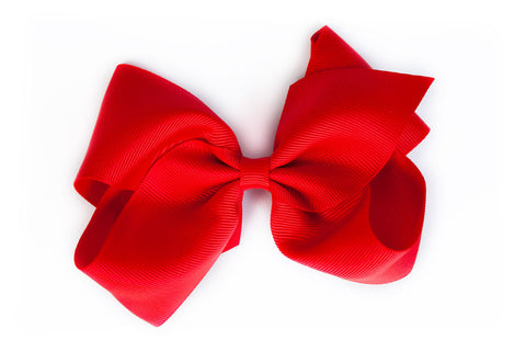 Extra Large Red Hair Bow