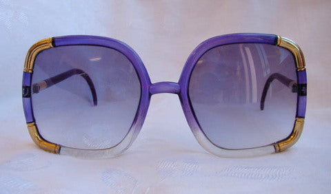 1980s Purple Sunglasses