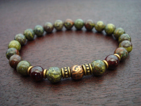 Men's Love & Protection Mala Bracelet