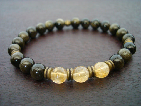 Men's Good Fortune Mala Bracelet