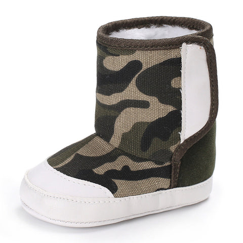 Toddler Camouflage Boots