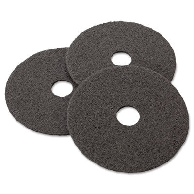 "Low-Speed Stripper Floor Pad 7200, 17"", Black"