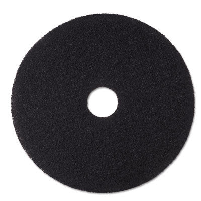 "Low-Speed Stripper Floor Pad 7200, 15"", Black"