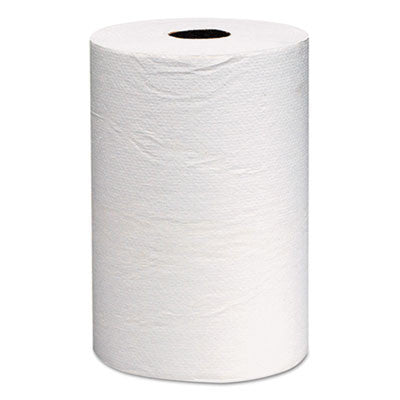 Hard Roll Towels, 8 x 800ft, White