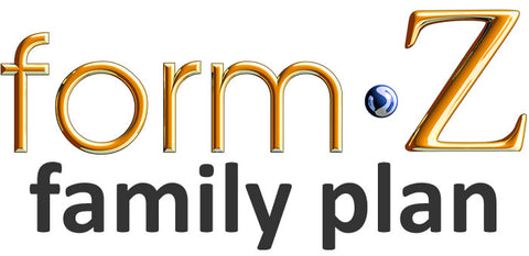 formZ Family Plan - Annual support subscription