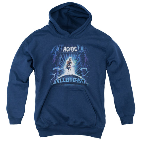 AC/DC Special Order Ballbreaker Youth 50% Cotton 50% Poly Pull-Over Hoodie