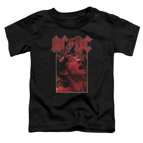 AC/DC Special Order Horns Toddler 18/1 100% Cotton Short-Sleeve T-Shirt