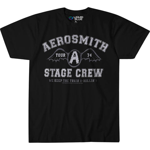 Aerosmith Stage Crew Men's T-Shirt