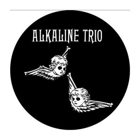 Alkaline Trio Cherubs Button