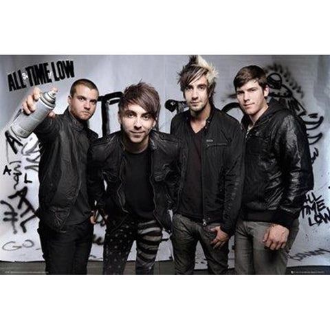 All Time Low Spray Wall Poster