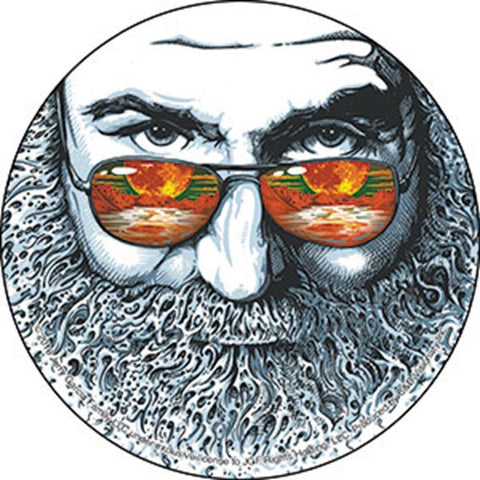Grateful Dead Jerry Garcia Palm Sunday Sticker