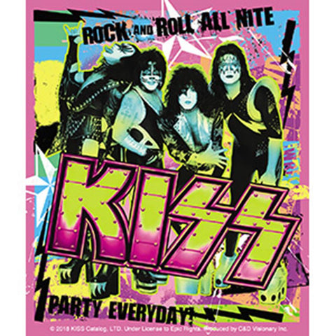 KISS Pink Party Everyday Sticker