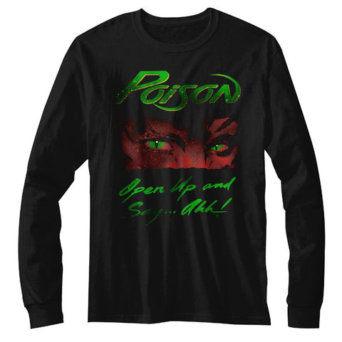 Poison Special Order Open Up Adult L/S T-Shirt