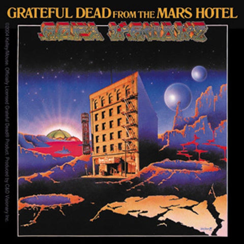 The Grateful Dead Mars Hotel Sticker
