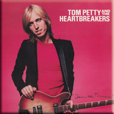 Tom Petty Torpedoes Album Square Magnet