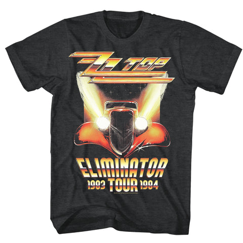 ZZ Top Special Order Eliminator Tour Adult S/S T-Shirt