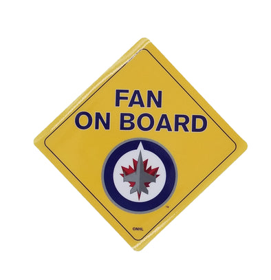 FAN ON BOARD SIGN