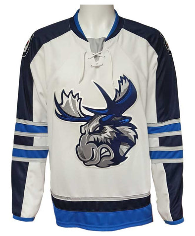 MOOSE JERSEY PLUS - WHITE