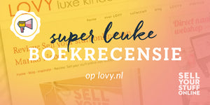 Boekrecensie Sell your stuff online werkboek