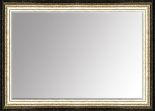 "Hexham Pewter Mirror (42"" x 30"") By Spires Studio"