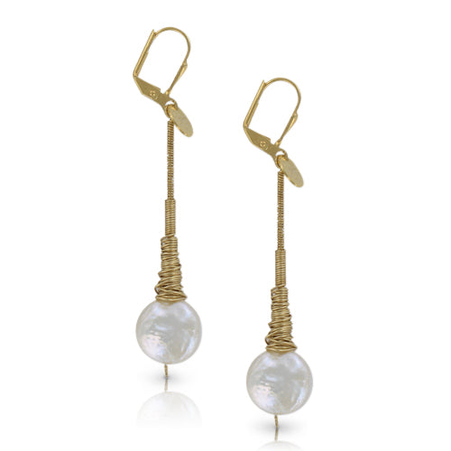 Nambia SM White Pearl earring