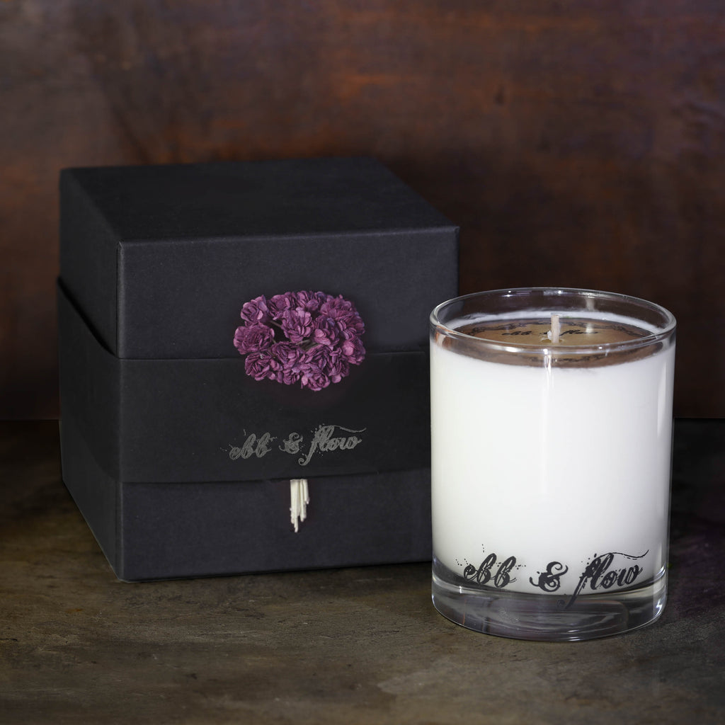 BLACKBERRY TEA SOY CANDLE - BOX NOT INCLUDED