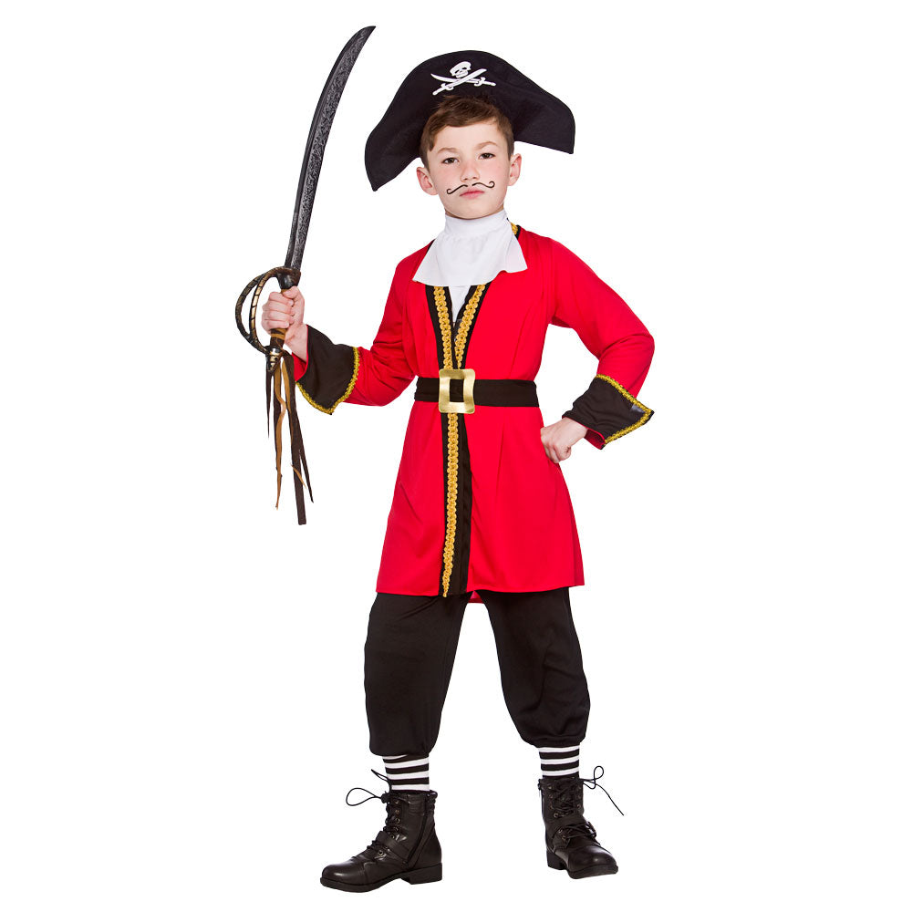 Boy's Pirate Captain Hook Costume
