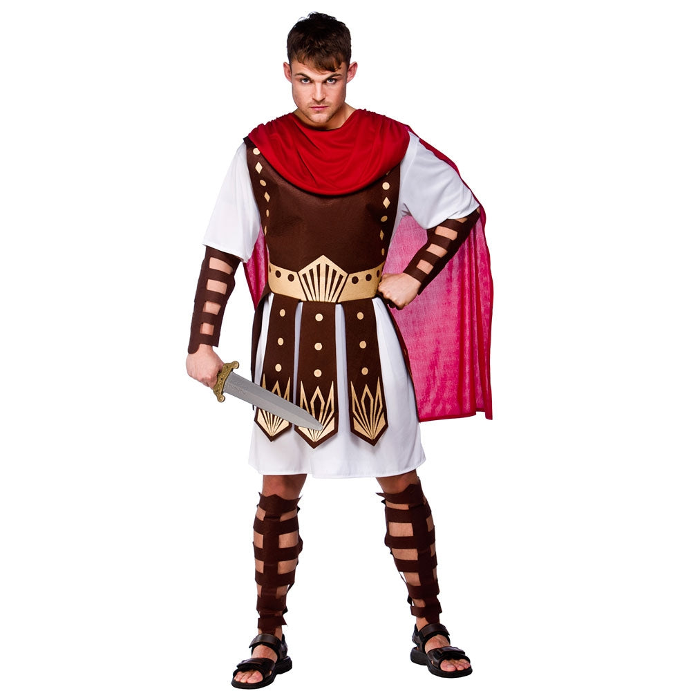 Men's Roman Centurion Fancy Dress Costume