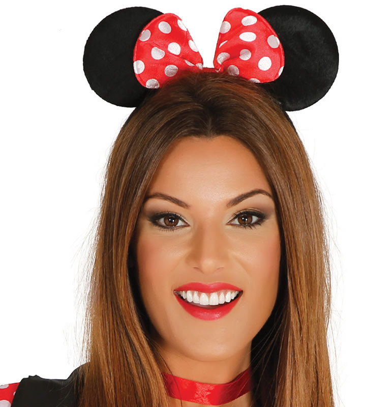 Cartoon Minnie Mouse Ears