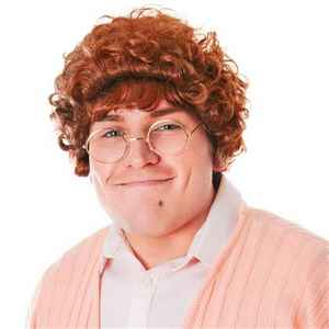 Become one of Irelands most famous mammy's, Mrs Brown with this Mrs Mop wig.