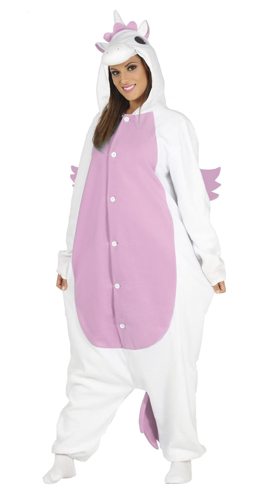 Ladies Pink Unicorn Adult Onesie