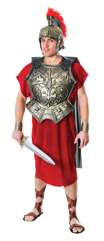 Roman Soldier Chest Plate With Cape for fancy dress costume.