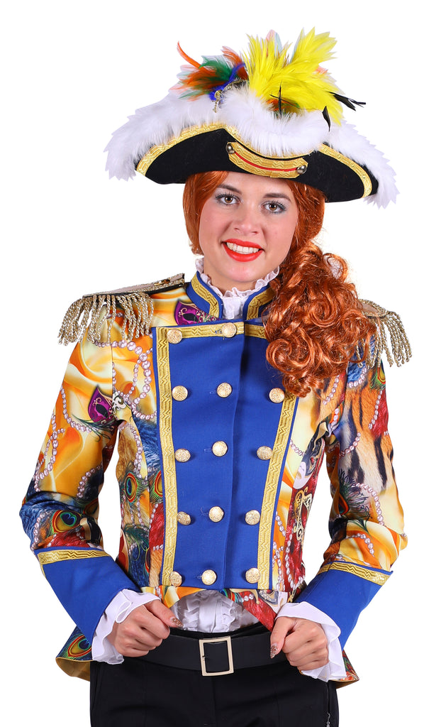Ladies Spectacular Pearl Carnival or festival Jacket Deluxe