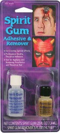 Spirit Gum Adhesive and Remover.
