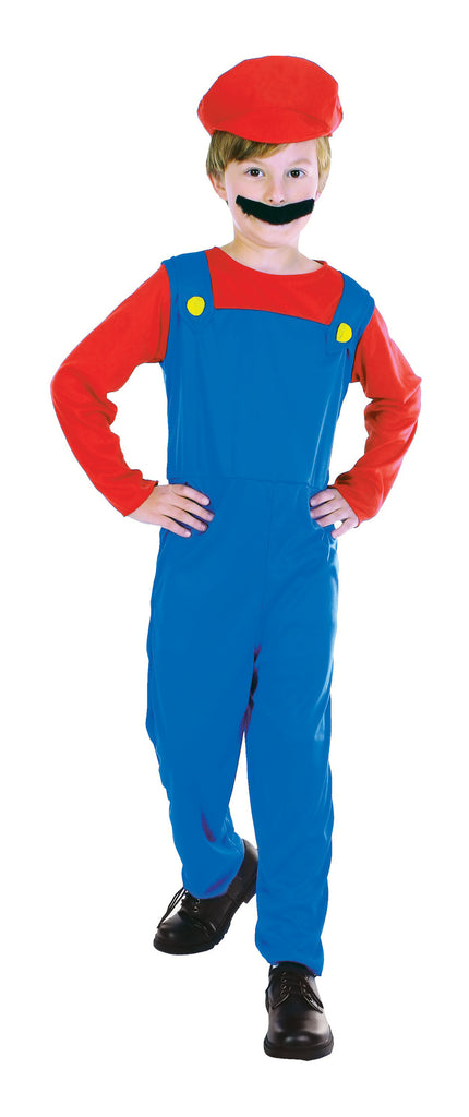 Super Mario Plumbers Mate Boys Costume