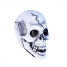 White Skull Head Rubber Mask