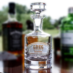 Groomsmen Whiskey Scotch Decanter