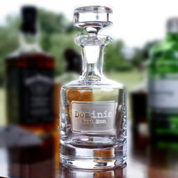 Best Man Whiskey Scotch Decanter