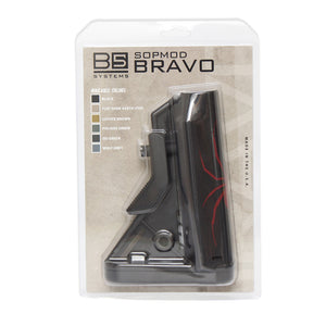 Custom B5 Systems Bravo Stock with RB1 Logo