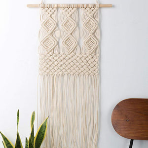 Macrame Wall Hanging Woven Tapestry Boho Art Decor