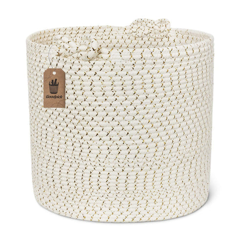 Cotton Rope Basket Large Laundry Basket