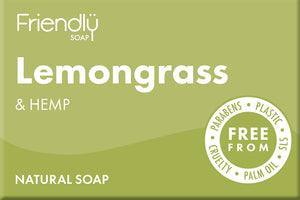 Friendly Soap Lemongrass and Hemp Soap