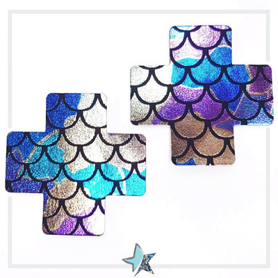 Mermaid Nipple cover