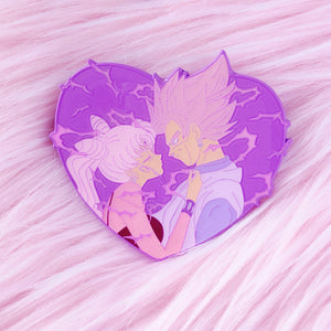 Black Hearts V.2 Pin